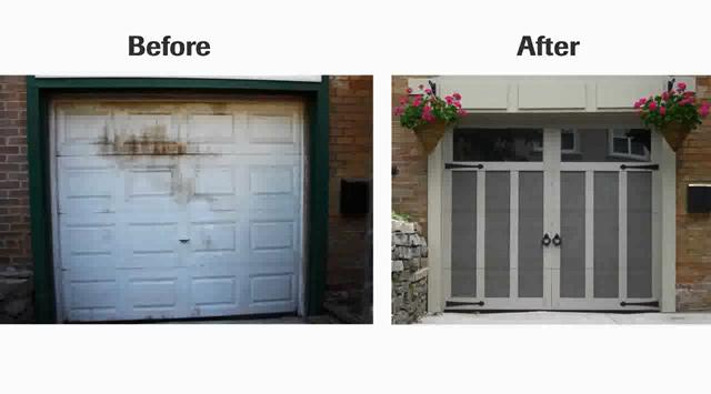 Watch this video · Transformation of a garage door  sc 1 st  Amsterdam Overhead Door & Garaga garage doors - How itu0027s made